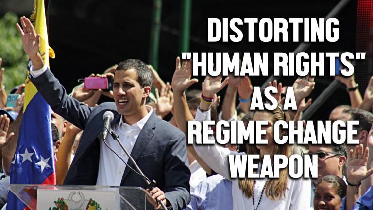 venezuela human rights regime change