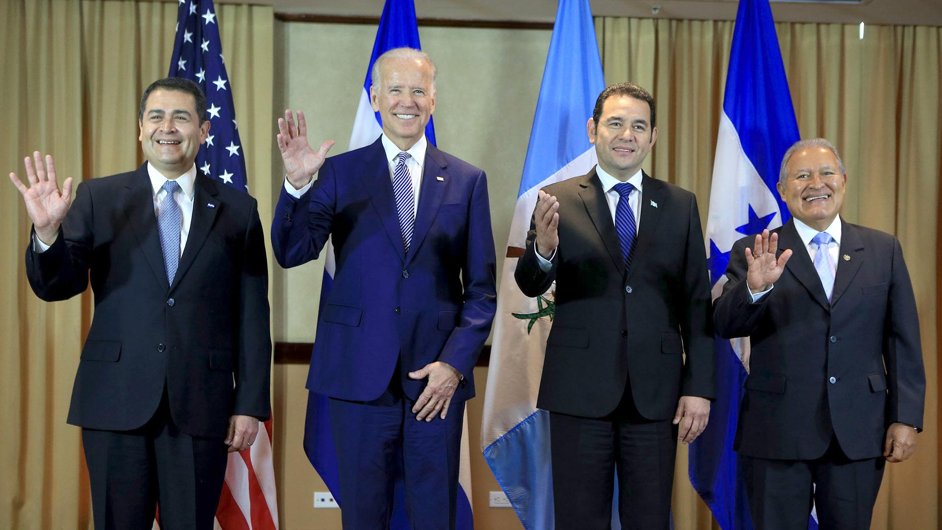 Biden Northern Triangle presidents
