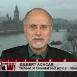 Gilbert Achcar British military