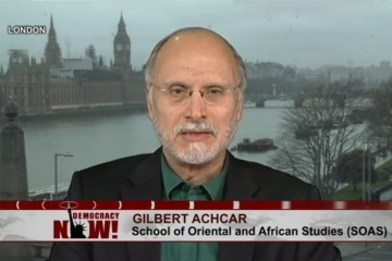 Gilbert Achcar British military