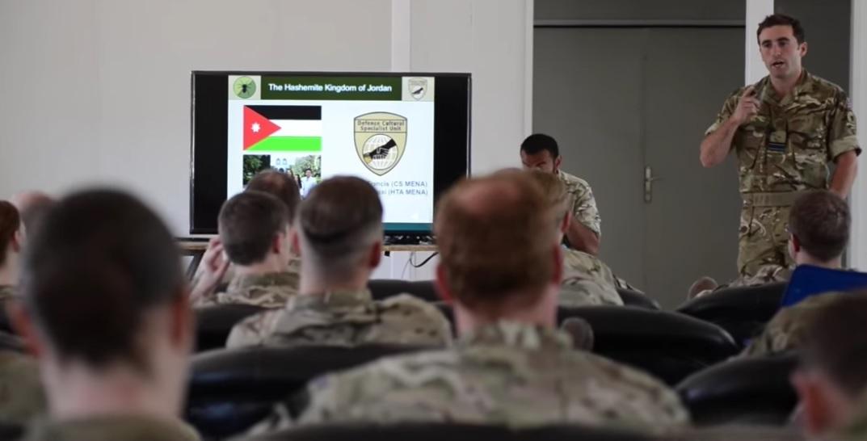 UK Defence Cultural Specialist Unit Jordan