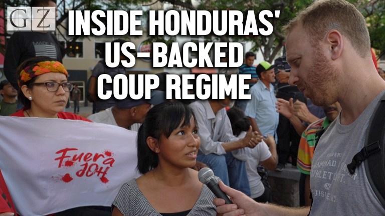 honduras us backed coup regime