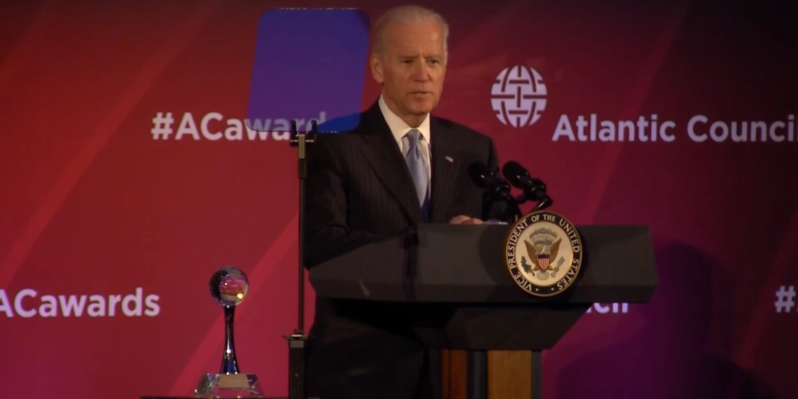 Atlantic Council Joe Biden Ukraine Burisma