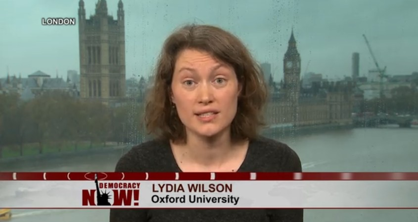 Lydia Wilson Max Blumenthal review