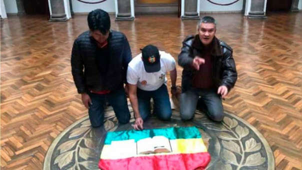Bolivia coup led by Christian fascist paramilitary leader and oligarch – with foreign support