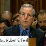 Robert Ford Syria regime change rebels