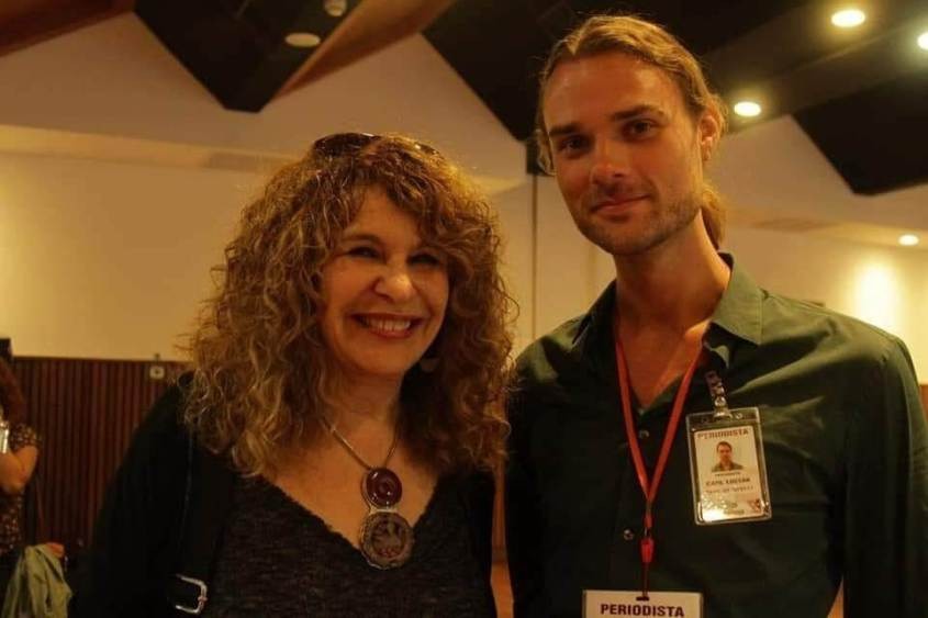 Carl David Goette-Luciak Nicaragua MRS Gioconda Belli