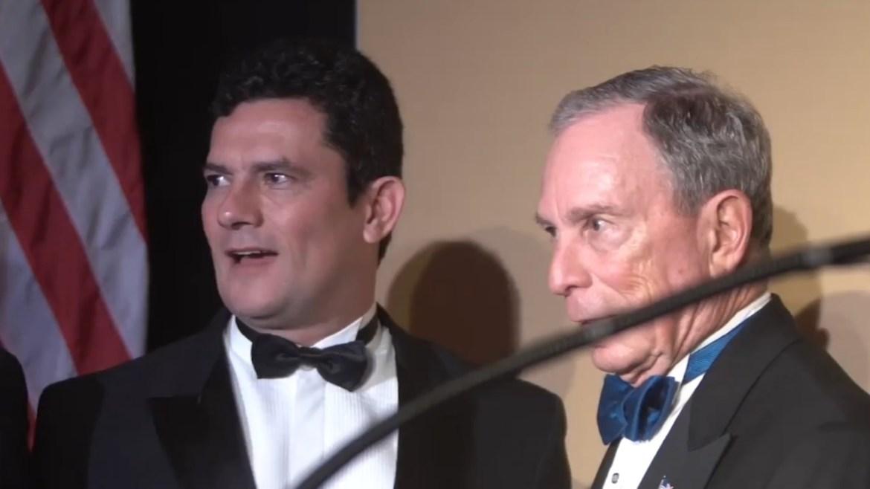 Michael Bloomberg Sergio Moro Bolsonaro Brazil