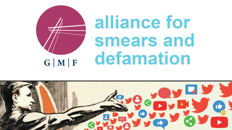 Alliance for Securing Democracy smears defamation neocons