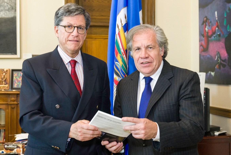 HRW Jose Miguel Vivanco Luis Almagro OAS