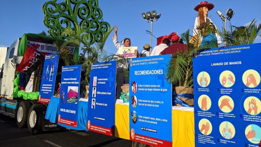 Nicaragua coronavirus march MINSA recommendations