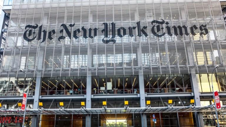 new york times corporate media