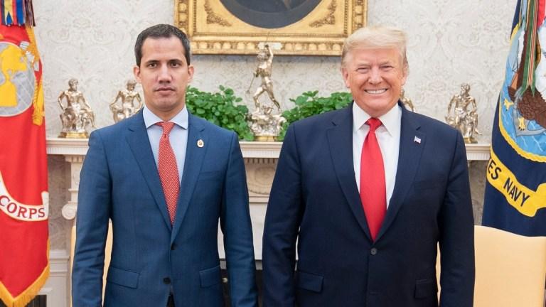 guaido venezuela trump border wall
