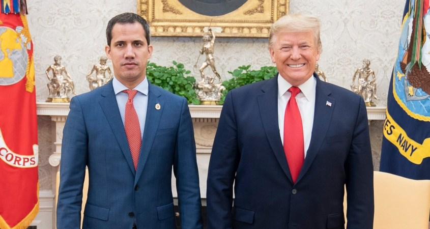 guaido venezuela trump border wall