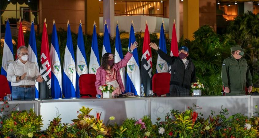 Nicaragua Sandinista Revolution 41 anniversary Ortega Murillo