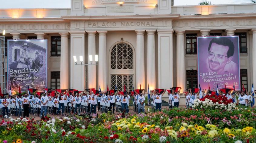 Nicaragua Sandinista Youth 41 anniversary bandanas