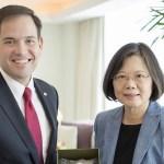 Taiwan Tsai Ing-wen Marco Rubio WHO China