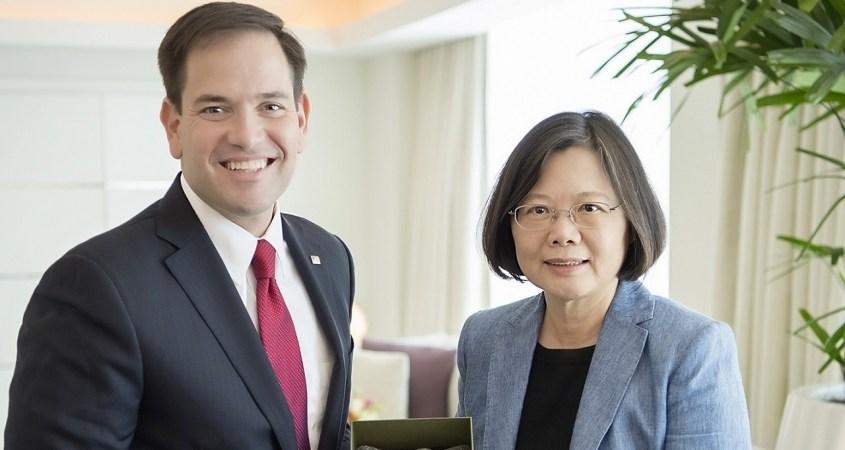 Taiwan Tsai Ing-wen Marco Rubio OMS Chine