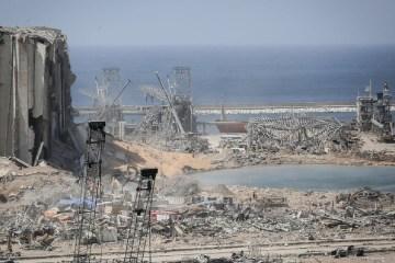 Beirut explosion Lebanon regime change US
