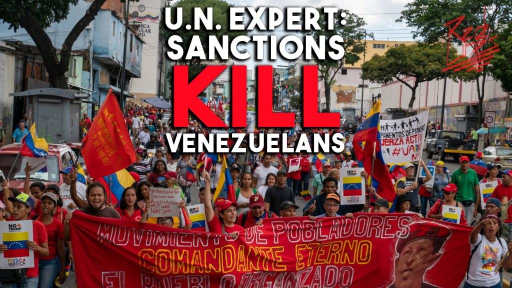 UN US sanctions Venezuela