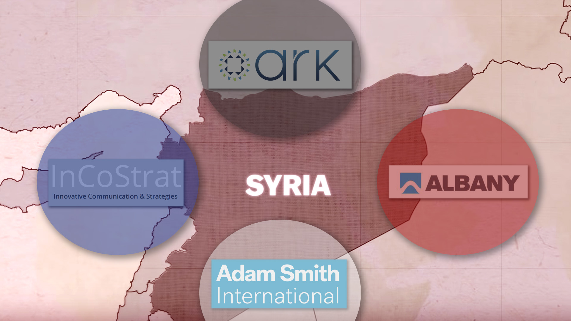 Syria UK contractors leaks war opposition media