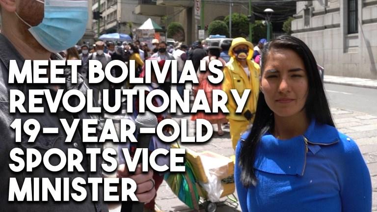 Bolivia Cielo Veizaga sports interview