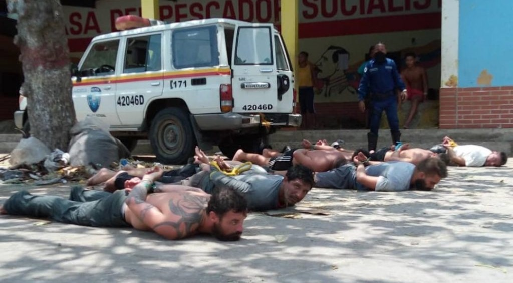 US mercenaries Venezela Operation Gideon