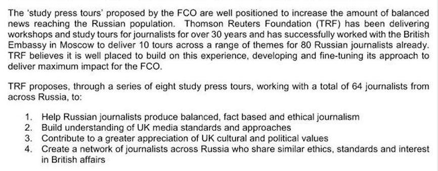 """Reuters, BBC, And Bellingcat Participated In Covert UK Foreign Office-Funded Programs To """"Weaken Russia,"""" Leaked Docs Reveal"""