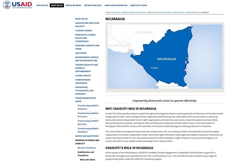 USAID OTI Nicaragua
