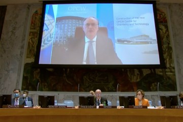 Syria OPCW Fernando Arias UN