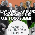 UN food summit corporations Bill Gates
