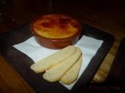 Crème Catalana with Almond Biscotti