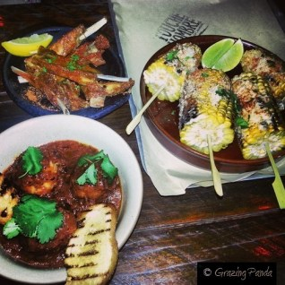 FOOD AT TOUCHE HOMBRE