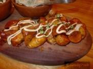 Patatas Bravas with Sweet Smoked Paprika, Spicy Tomato Jam & Aioli