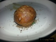 Goat's Cheese Profiterole, Thyme, Caraway and Our Honey