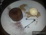 Hot Chocolate Pudding, Chestnut Ice Cream