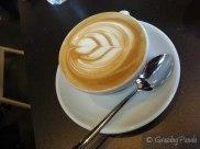 Flat White at Code Black Coffee