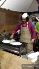 Making of the Dosa