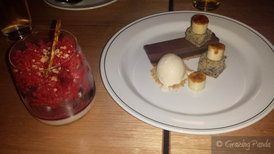 Desserts at Nieuw Amsterdamn