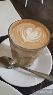 Latte at Stables of Como