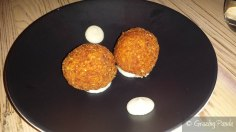 Smoked Eel and Acorn Croquettes