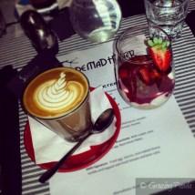 Coffee and Home Made Bircher Muesli