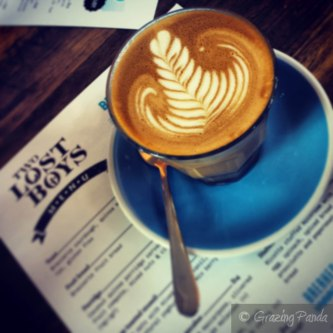 Latte at Two Lost Boys