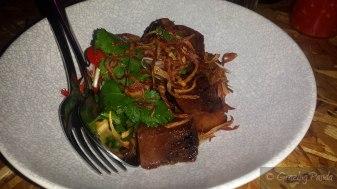 Crispy Pork Hock + Rum Glaze