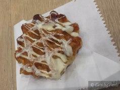 Raspberry White Chocoale Waffle