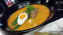 Tan Tan Men - Free range pork mince, egg, chilli oil, preserved vegetables, rich sesame flavoured broth, chef's signature, best seller
