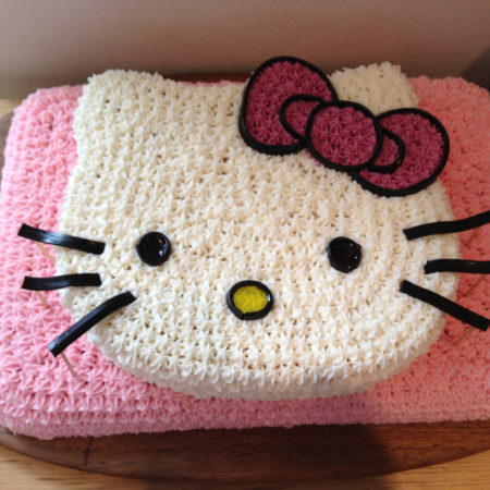 Hello Kitty Birthday Cake The Great British Bake Off