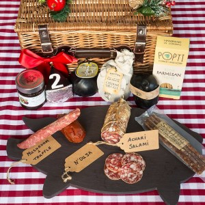 Artisan British Cheese & Charcuterie Lovers Box Large