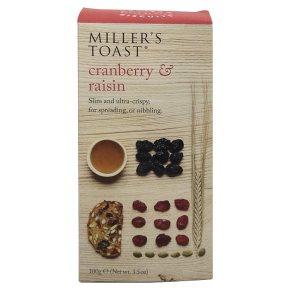 Millers Toasts Cranberry