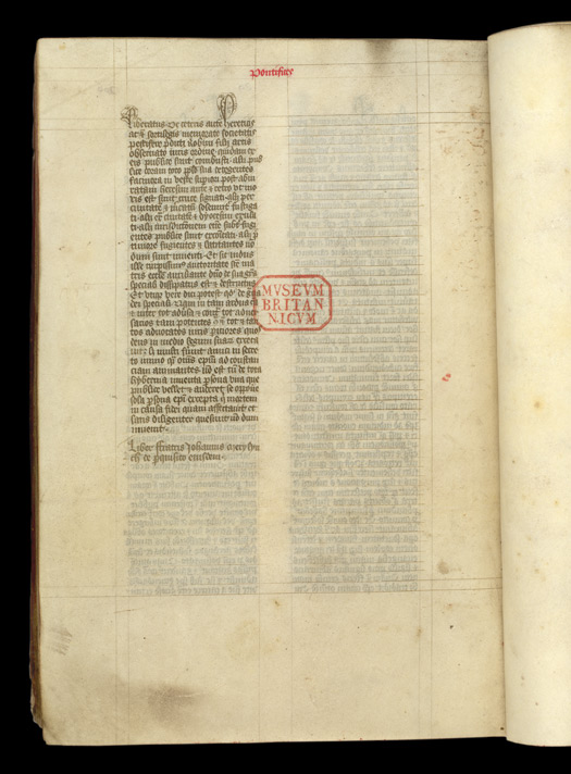 Chronicle of Alice Kyteler's Trial British Library